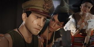 Steve Carell Janelle Monae, and Eiza González as dolls in Welcome To Marwen