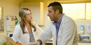 Adam Sandler and Jennifer Aniston in Just Go With It