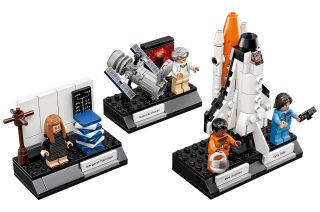 "The Lego Ideas ""Women of NASA"" set includes minifigures modeled after astronomer Nancy Grace Roman, computer scientist Margaret Hamilton and astronauts Sally Ride and Mae Jemison."