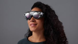 Future AR devices with remote 5G processing may not need to be quite as thick as the Magic Leap One