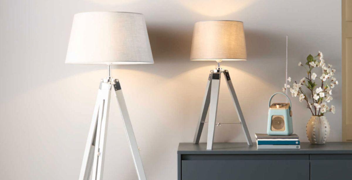 This Fab Aldi Lighting Was Already, Tripod Spotlight Floor Lamp Aldi