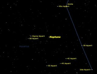Neptune Reaches Opposition in August 2013
