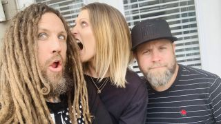 Brian Head Welch and We Are Pigs promo pic