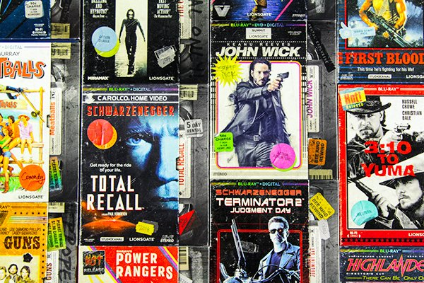 VHS Collection Blu-rays Lionsgate