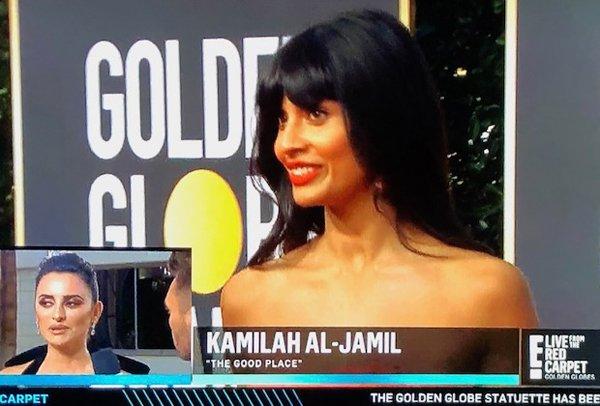 Jameela Jamil misidentified as Kamilah Al-Jamil on E!