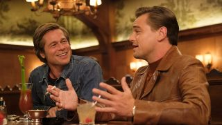 Leonardo DiCaprio and Brad Pitt in Once Upon A Time... In Hollywood