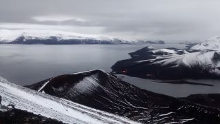 Deception Island, Antarctic volcano