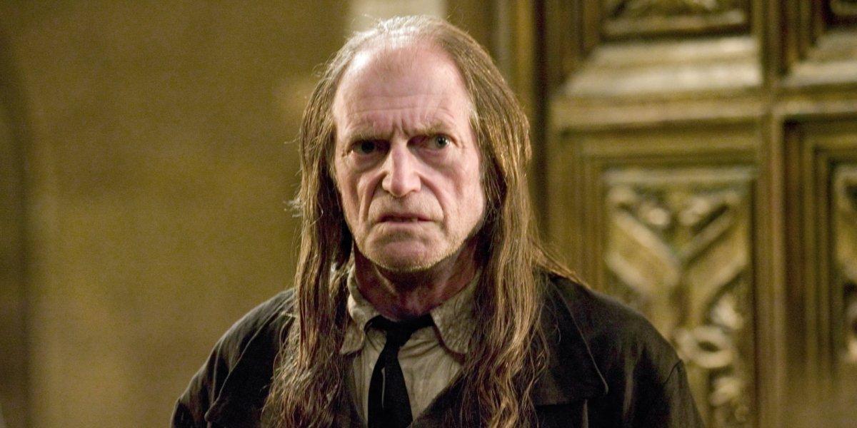 David Bradley as Argus Filch