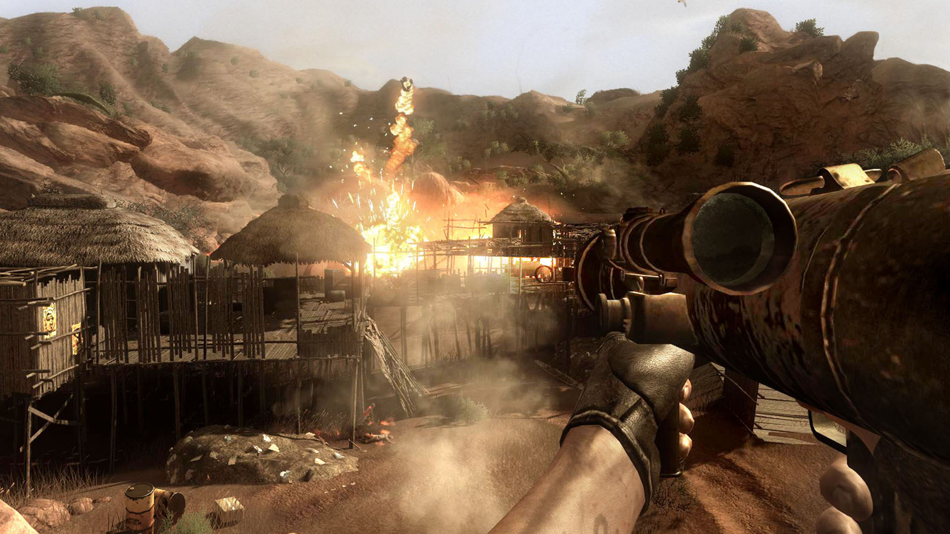 Remembering Far Cry 2 The Open World Game That Wasn T Afraid To