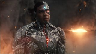 Cyborg in Zack Snyder's Justice League
