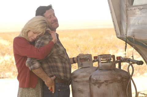 The Burning Plain - Kim Basinger's Gina & Joaquim de Almeida's Nick conduct an illicit affair