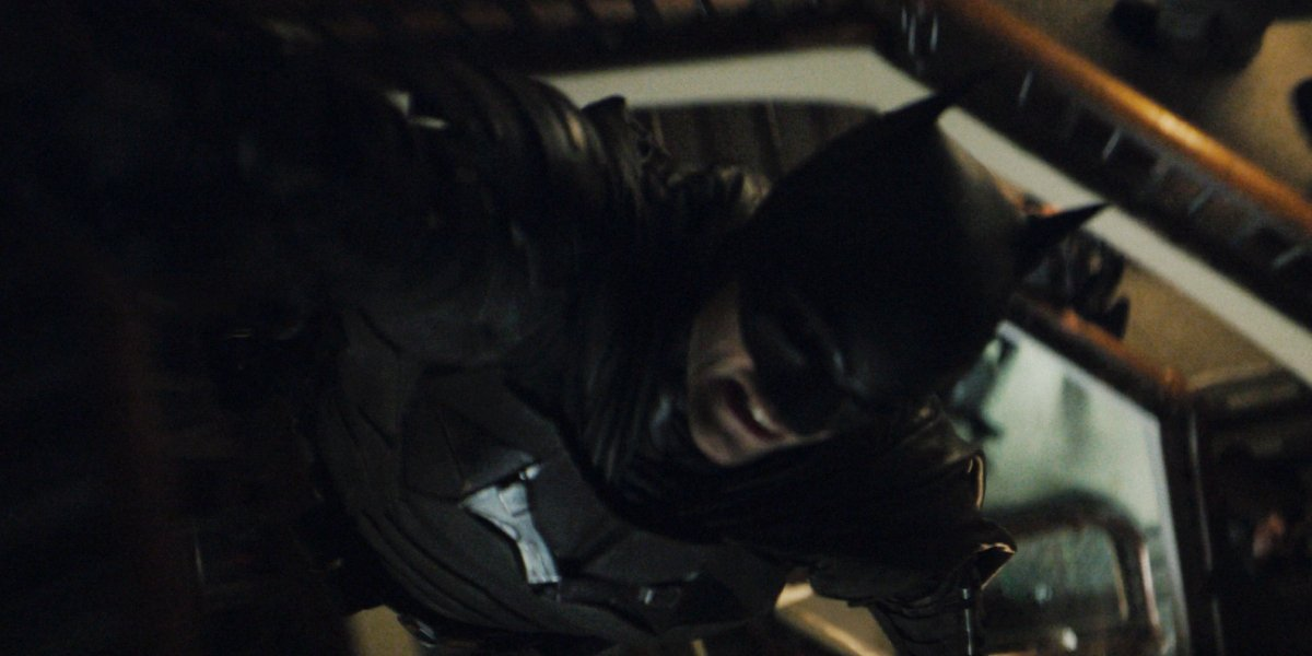 Robert Pattinson in The Batman trailer