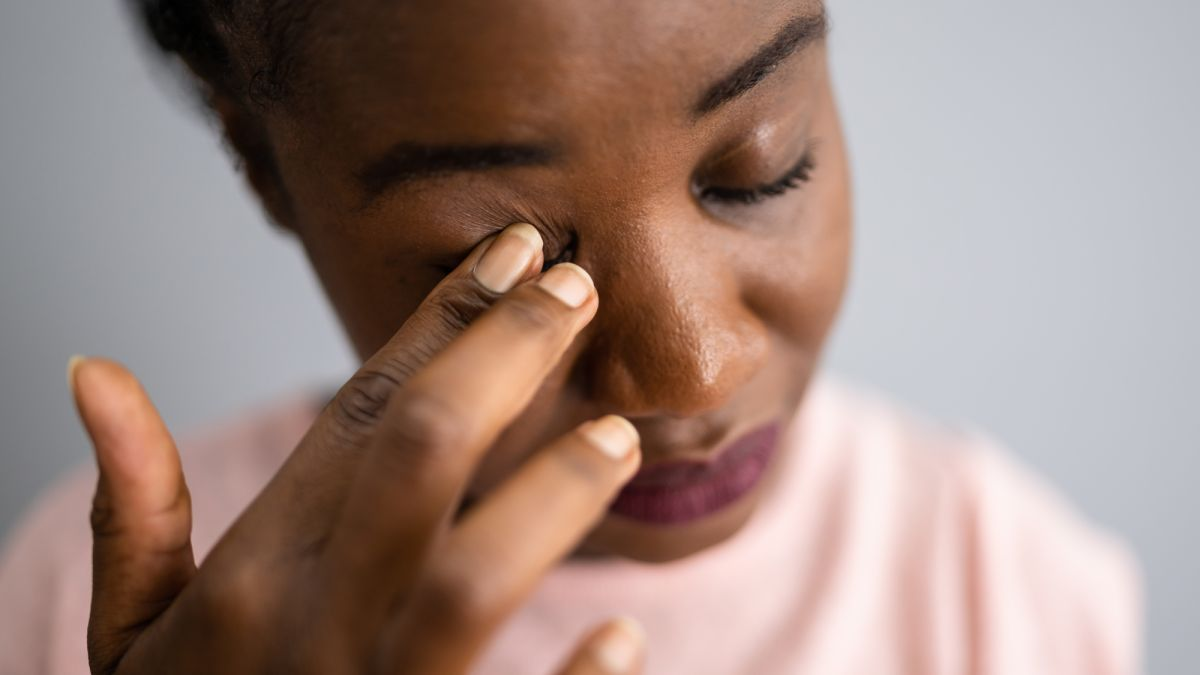 Why menopause can cause dry, itchy eyes – and how to stop it