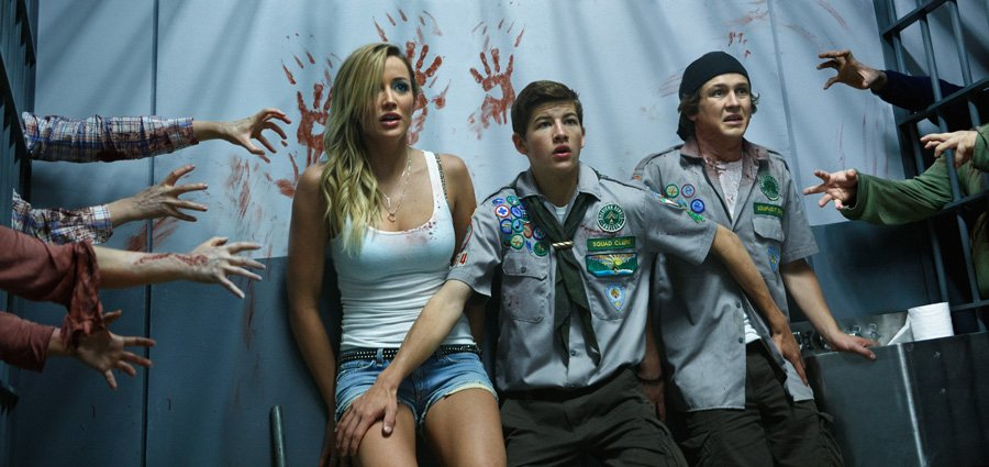 5 Fascinating Things We Learned On The Set Of Scouts Guide To The Zombie Apocalypse #8707