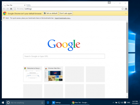 How to Make Chrome Your Default Browser in Windows 10 | Laptop Mag