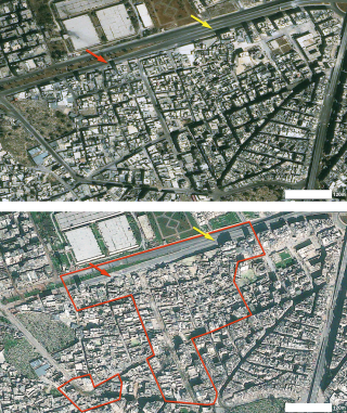 Syria Civil War Satellite Photos