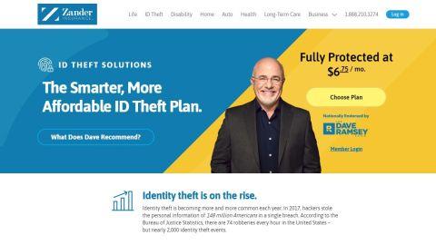 Zander Identity Theft Protection Review Techradar