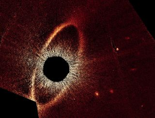 Fomalhaut System Cleared Ring