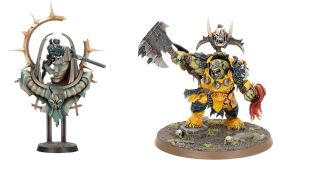 Two of the models from Warhammer+