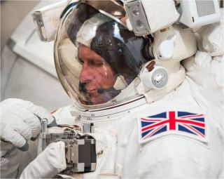 Tim Peake, British ESA astronaut.