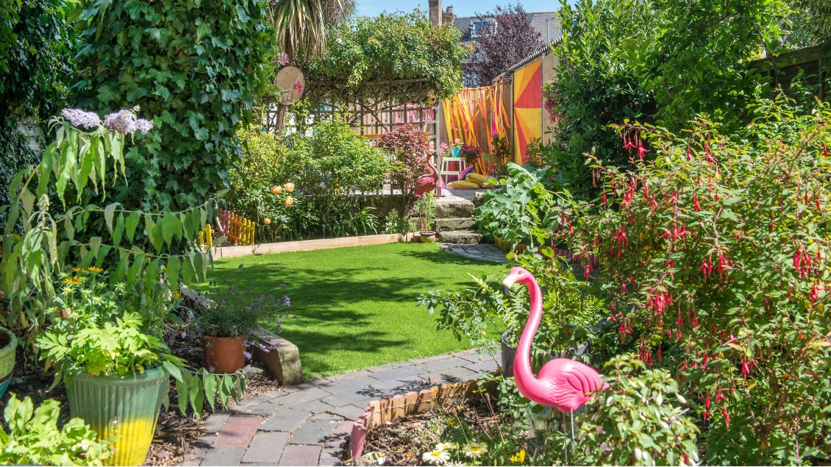 Garden makeover: a holiday at home that's full of happy colour