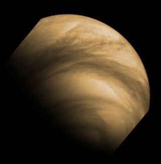 Cloud Features Seen on Venus