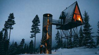 Pan Treetop Cabin exterior