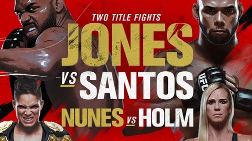 UFC 239 live stream: how to watch Jones vs Santos tonight from anywhere
