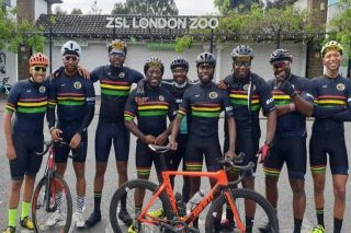 Members of the Black Cyclists Network