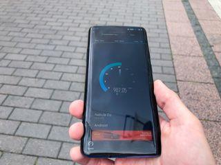 Speedtest-nopeustesti 5G-puhelimella