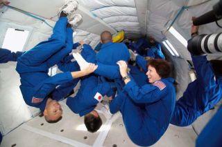 Astronaut Candidates Taste Zero G