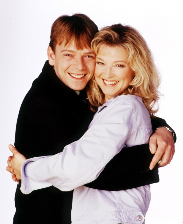 Ian and Kathy before she was said to have been killed off (BBC)