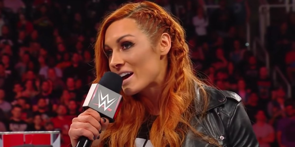 Becky Lynch on Monday Night Raw
