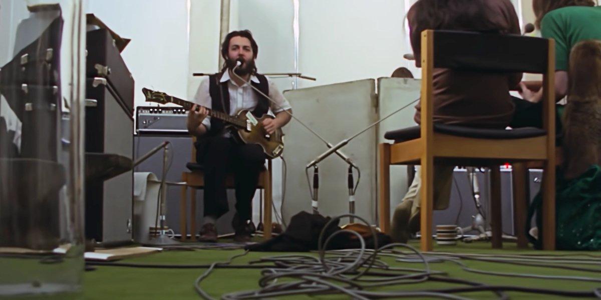 Paul McCartney in The Beatles: Get Back