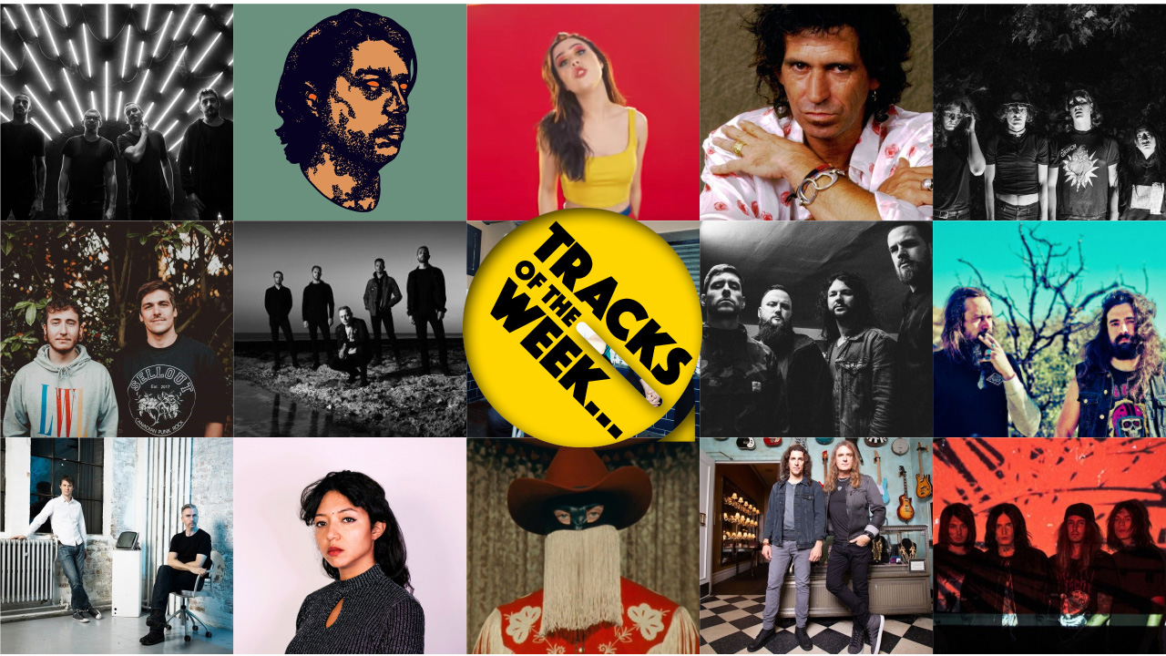 Louder's Tracks Of The Week: New music from Keith Richards, Architects and more