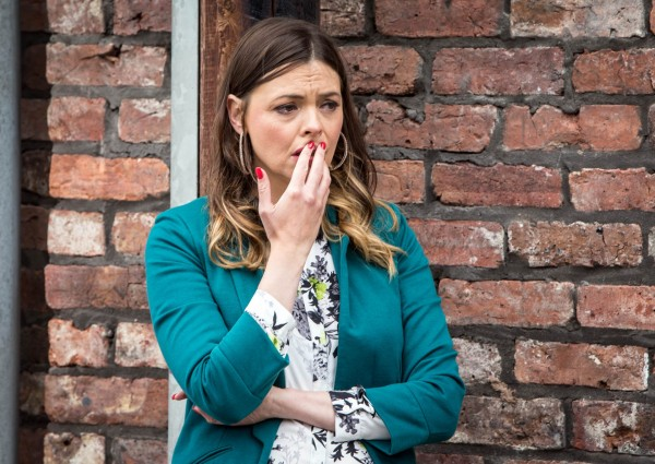 Tracy Barlow, played by Kate Ford, in Coronation Street