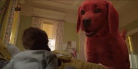 Clifford The Big Red Dog Trailer Shows The Pup Getting Into Huge Hijinks And Nearly Swallowing A Dog