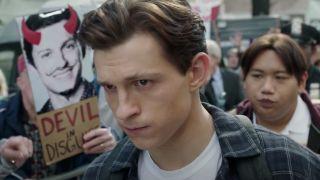 Tom Holland in Spider-Man: No Way Home