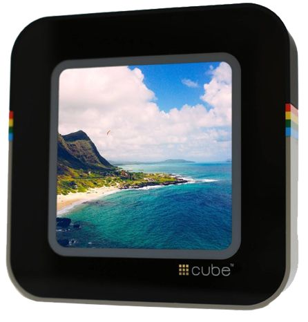Cube 5-Inch Photo Frame Review - Good for Instagram