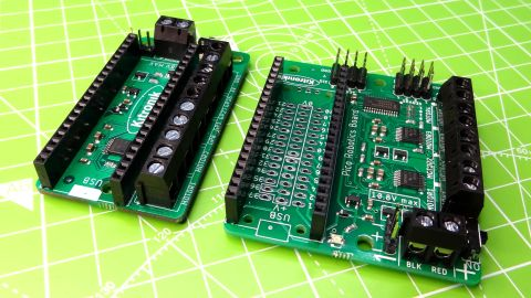 Kitronik Pico Motor Driver and Pico Robotics Board