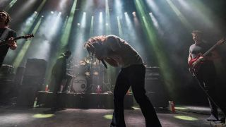 Sikth performing live