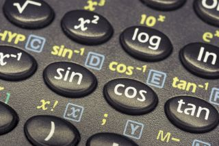 Trig buttons on calculator