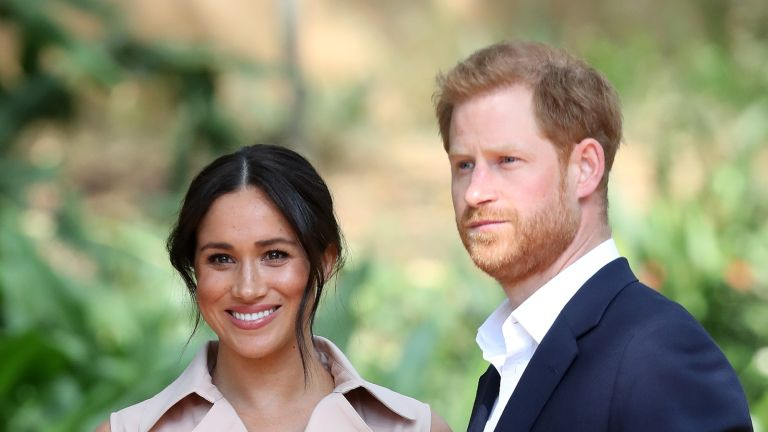 Meghan and Harry in 2019