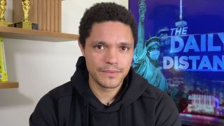 """Trevor Noah on """"The Daily Social Distancing Show."""""""