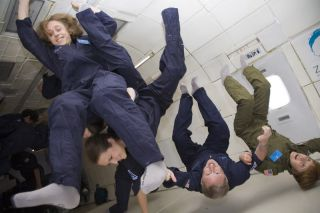 The Stern Family in Zero-G