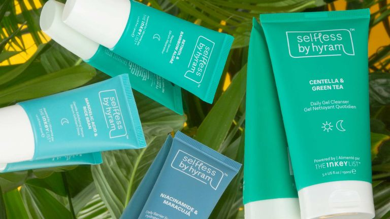 A selection of Selfless by Hyram skincare products