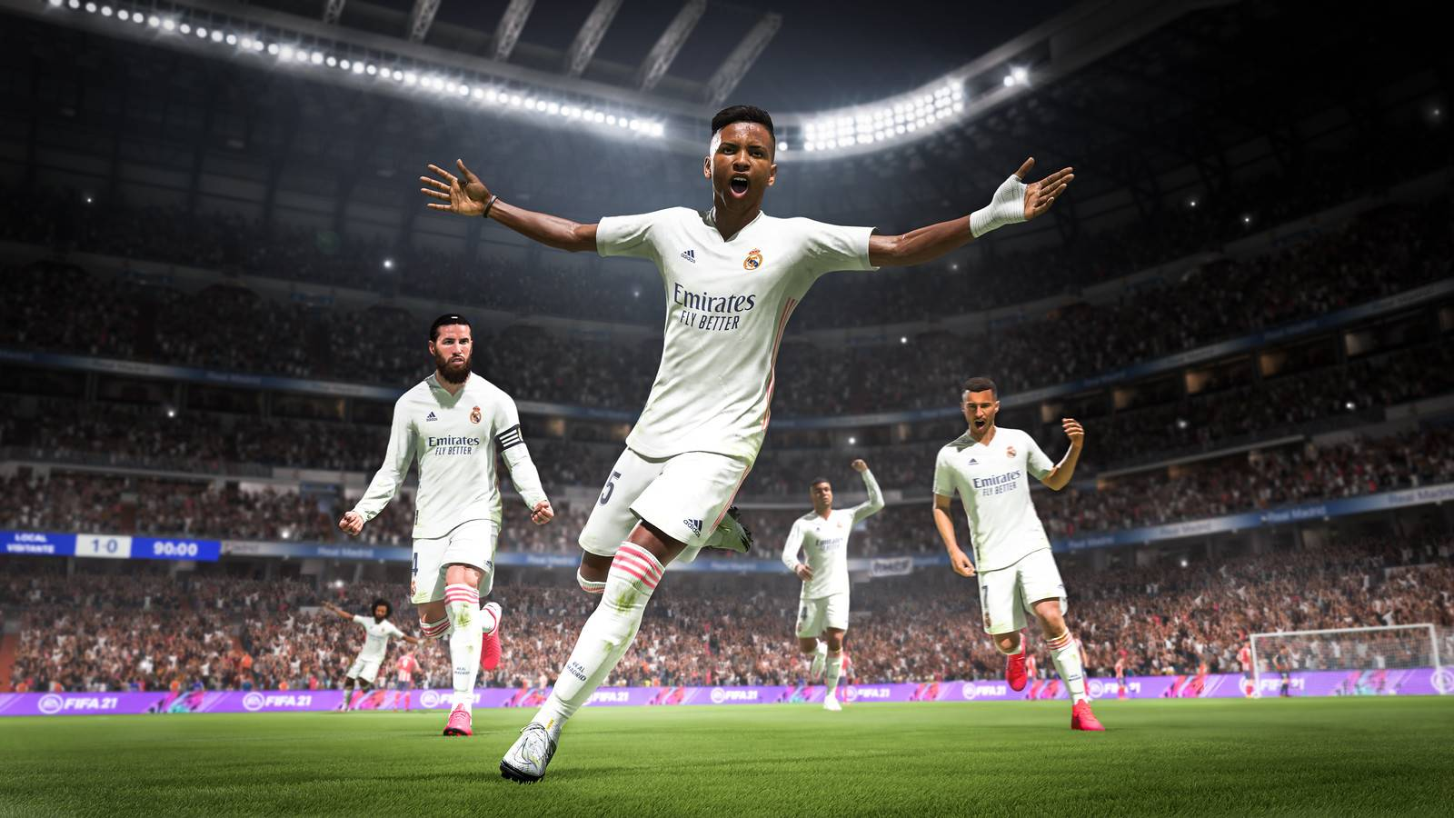 FIFA 21 on PS5
