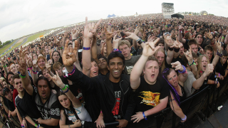 A crowd as Download Festival