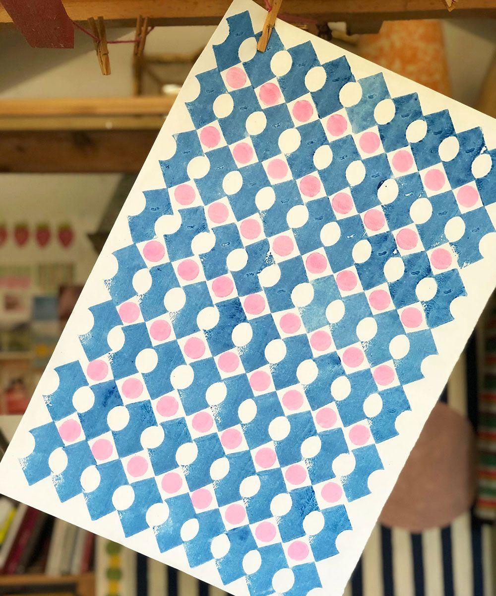 Art.  Block Printing - cover
