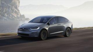 Tesla model x plaid : lede